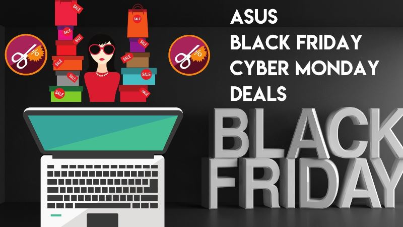 Asus ROG Strix SCAR III Laptop Black Friday and Cyber Monday Deals 2019
