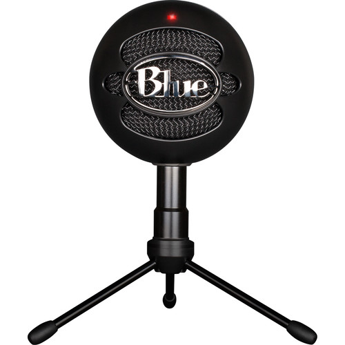 blue snowball ice usb condenser microphone with accessory pack black