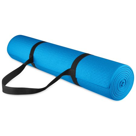 balancefrom 14 inch thick all purpose high density non slip yoga mat with