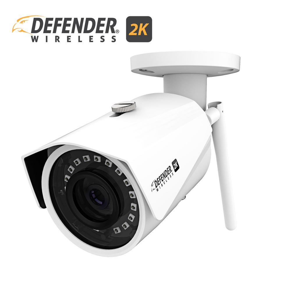 defender 2k 4mp wireless wide angle night vision ip camera with remote