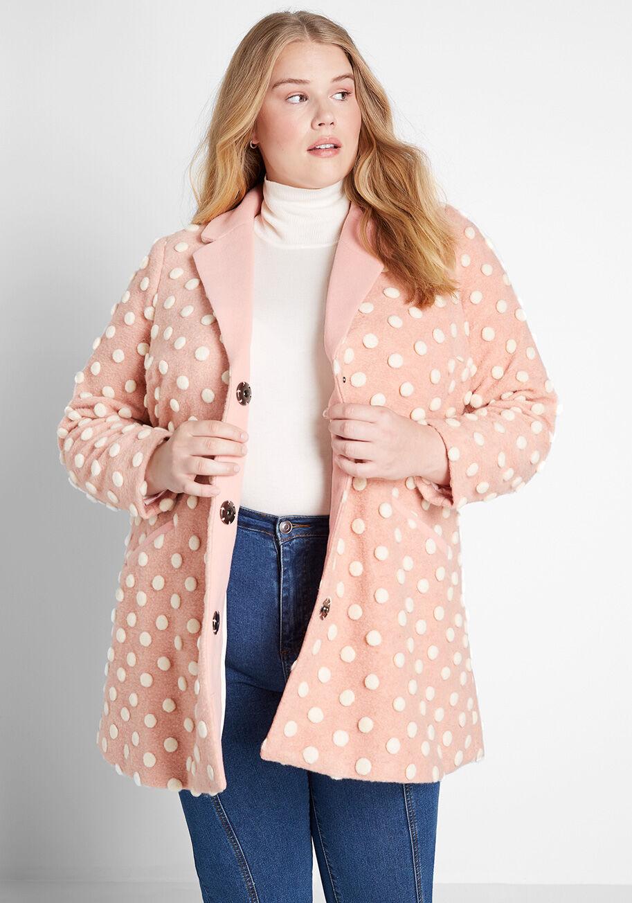 salient style wool coat