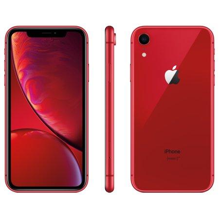 straight talk apple iphone xr w64gb red