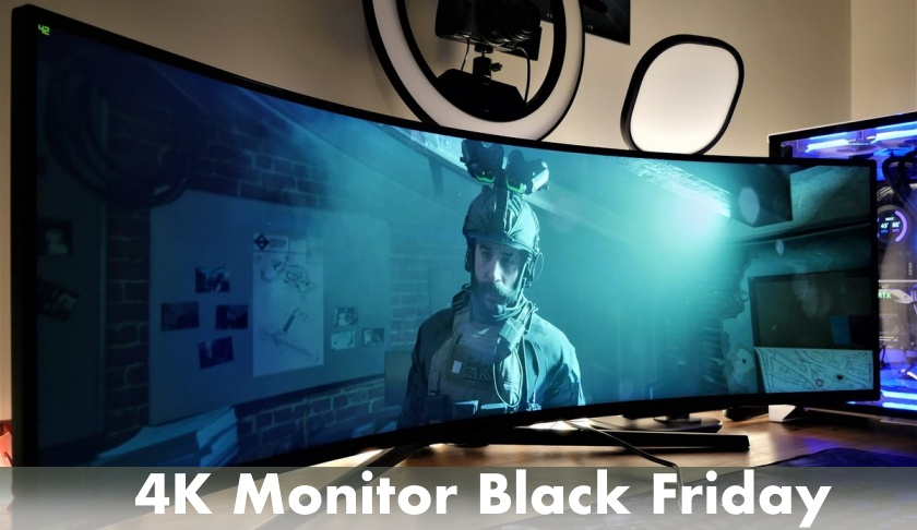 4K Monitor Black Friday 2021 and Cyber Monday Deals