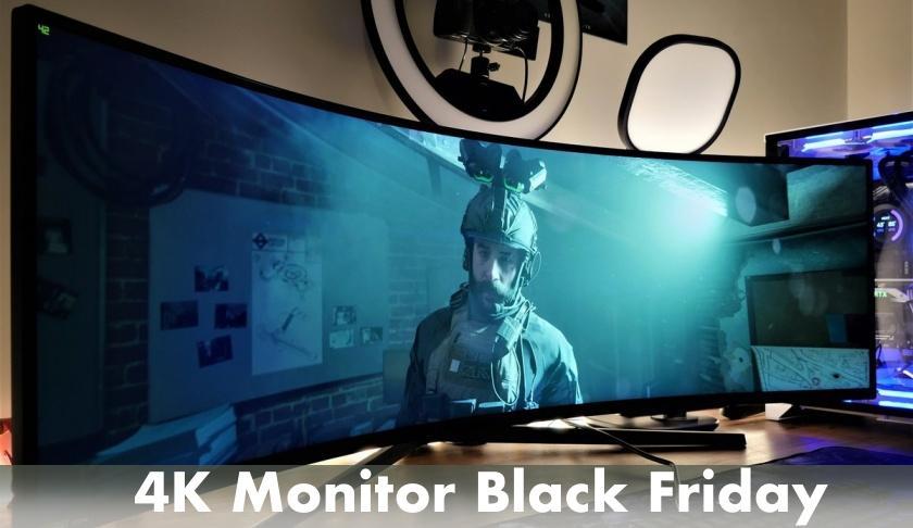 4K Monitor Black Friday
