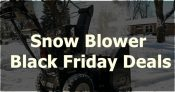 20 Best Snow Blower Black Friday Deals [2019]