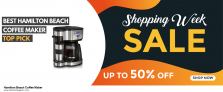13 Best Black Friday Hamilton Beach Coffee Maker Deals [Up to 50% OFF] 2020